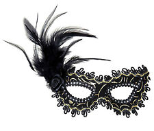 Augenmaske Rosa Nera NEU - Karneval Fasching Maske Gesicht