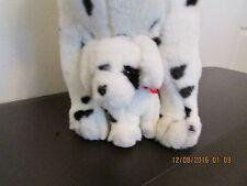 """DALMATIAN""         Large Plush Stuffed Dog         (ADULT & PUP)"