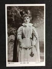 Vintage Postcard: Actress : #A82 : Miss Mabel Love : Nurse Uniform