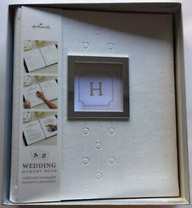 Vintage Hallmark Our Wedding Elegant Album Keepsake Photo Memory Scrap Book NEW