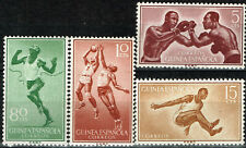Spanish Guinea African Sport stamps 1957 MLH