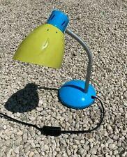 Bleu Lampe de bureau utilise