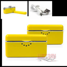 2X 2800MAH EXTERNAL YELLOW BATTERY BACKUP CHARGER USB IPHONE 4S 4 3GS IPOD TOUCH