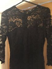 black lace dress size 12 New with tags