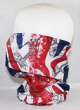 Multi use Biker Union Jack Cycling Neck Tube Scarf Snood Face Mask Warm Bandana