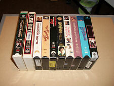 FREE SHIP Lot #3 10Pc Various VHS Movies Harry Potter, Overboard, Wonder Boys ++