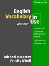 English Vocabulary in Use Advanced-Michael McCarthy, Felicity O'Dell