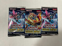 Yu-Gi-Oh! Genesis Impact Sealed Booster Pack Lot (3 Packs) Yugioh 1st Edition