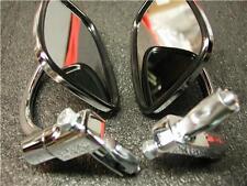 Pair of Chrome Bar End Mirrors  Norton/Triumph/BSA