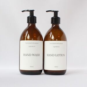 Refillable Hand Wash/ Lotion Bottle