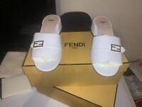 Fendi Ladies Slides  Size 40