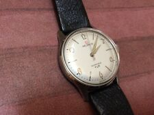 Vintage Helbros Invincible 60's Manual Wind Watch_Perfect Dial_Working_Excellent