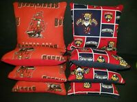 Details about  /Set of 8 Kansas City Chiefs Tampa Bay Buccaneers Cornhole Bags *FREE SHIPPING*