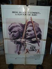 "THE LAST VALLEY, orig 1-sh ""B"" / movie poster (Michael Caine, Omar Sharif)  1971"