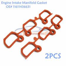 2PCS Engine Intake Manifold Gasket Set Fits E36 E39 E46 E60 E85 M54 11611436631