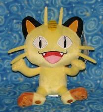 Meowth Pokemon Plush Doll Stuffed Toy Team Rocket Official Tomy New with Tags