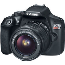 Canon EOS Rebel T6 DSLR Camera with 18-55mm II Lens. (2 LENSES). Freeshipping!
