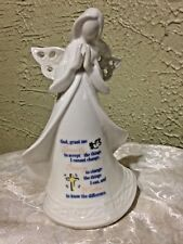 "NEW in Box, ""SERENITY ANGEL STATUE WITH PRAYER""  6.5""H"