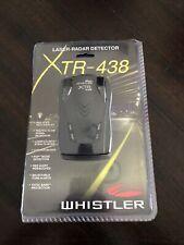 Whistler Xtr-438 Laser Radar Detector