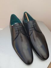 New TED BAKER Bhartli Pointed Derby Men's Shoes Black - SIZE UK 8