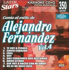 Fernandez, Alejandro : Karaoke: Alejandro Fernandez 4 - Latin S CD