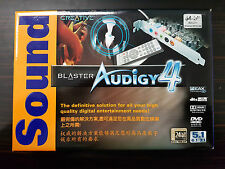 SOUND BLASTER AUDIGY 4 PCI Sound Card with remote control