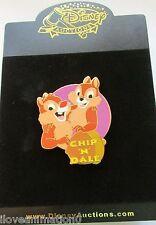 Disney Auctions Chip 'n' Dale Title LE 100 Pin