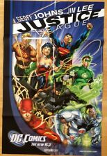 Justice League New 52 promo poster 2011 Jim Lee Art