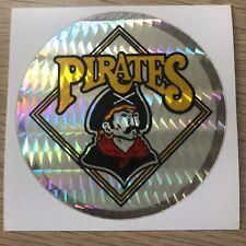 Pittsburgh Pirates Vintage 80s MLB Sticker