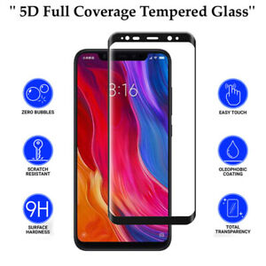 5D Anti Scratch 9H Tempered Glass Full Screen Protector For All Phone Models