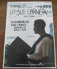 More details for loyle carner - live music show april 2019 promotional tour concert gig poster