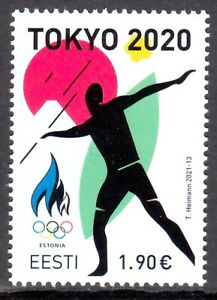 ESTONIA 2021 TOKYO OLYMPICS JEUX OLYMPIQUES OLYMPISCHE SPIELE [#2111]
