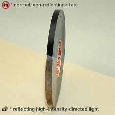 3M™ scotchlite reflective vinyl tape strip black color 7mm x 6MT motorcycle car