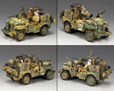 KING AND COUNTRY LRDG Attack Jeep EA115