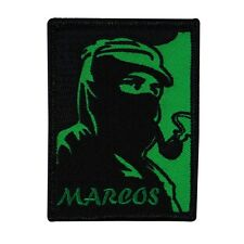 "Subcomandante ""Marcos"" Iron-On Patch Zapatista Army Support DIY Apparel Applique"