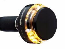 "Motogadget Bar End LED M Blaze Disc Indicator Turn Signal Black 1"" or 7/8"" - RH"