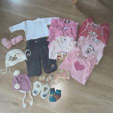 BabyKleidung 15 Teile Paket set Gr.56-68 MädchenBekleidung Marken C&A,Sterntaler