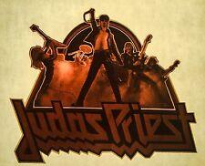 80s Heavy Metal JUDAS PRIEST Hard Rock Concert Tour vTg Orig t-shirt iron-on NOS