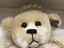"NEW ""CELESTE"" MOHAIR BEAR DOLL FROM ANNETTE FUNICELLO ANGEL COLLECTION"