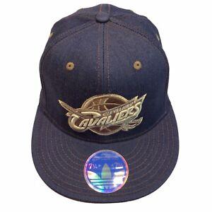 Cleveland Cavaliers NBA Adidas Tonal Flex 7 1/4-7 5/8 L/XL Flexfit Cap Hat $28