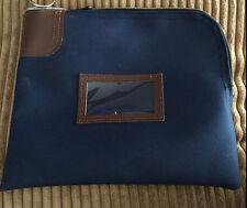 Used State Chase Bank Vintage Rifkin Locking Deposit Blue Bag Wilkes Barre