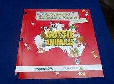 Aussie Animals full complete set of 36 cards in presentation folder