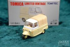 [TOMICA LIMITED VINTAGE LV-54a 1/64] MITSUBISHI PET LEO (Yellow)