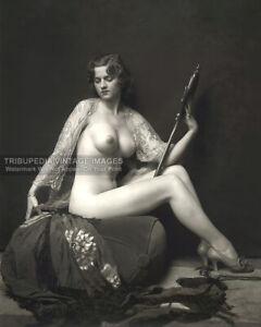 1920s Nude Ziegfeld Follies Girl Photo - Dorothy Flood - Alfred Cheney Johnston