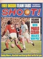 SHOOT football magazine FRONT COVER picture – VARIOUS Teams (Lot 01)