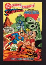 DC COMICS PRESENTS #47 Comic SUPERMAN & MASTERS OF UNIVERSE Mattel Reprint 2009