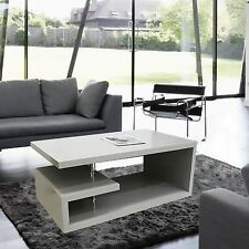 Designer Square Coffee Table Grey High Gloss Finish!!Free Delivery!!