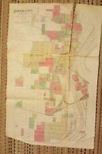 Map Of America Kansas City.Kansas City Map Antique North America Atlas For Sale Ebay