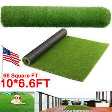 6.6x10ft Artificial Grass Turf Mat Fake Synthetic Garden Landscape Lawn Carpet