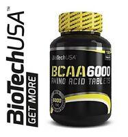 BIOTECH USA BCAA 6000 - 2:1:1 Ratio Isoleucine, Leucine and Valine Amino Acid !